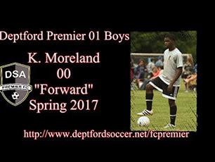 K. Moreland - Spring 2017