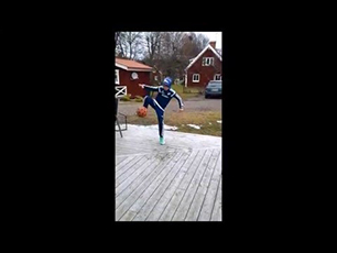 Amazing 10 year old freestyler