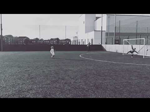 SOCCER KID - JIMI WEBB U8 Long shot