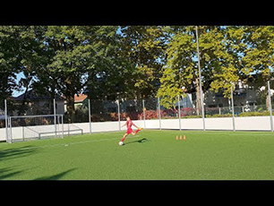 Advanced Cones And Feint Dribbling