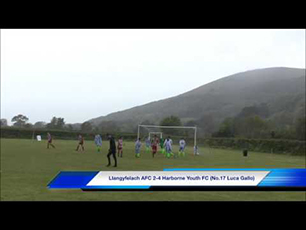 Luca Gallo's hat-trick at the ESF Festival of