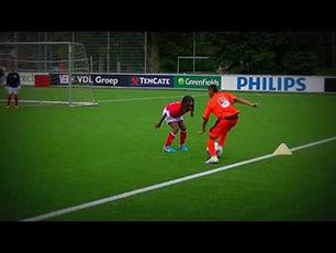 Damian Boon Match moments | Jonger Oranje U11 vs PSV | short version