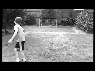 8 year old soccer player