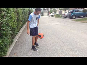Sick Football Freestyler