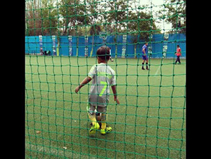 Soccer training by PrithviRaj Singh