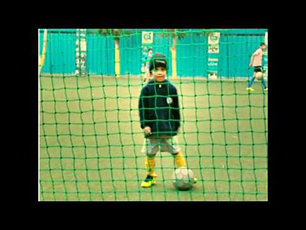 Soccer training by Little Prithvi