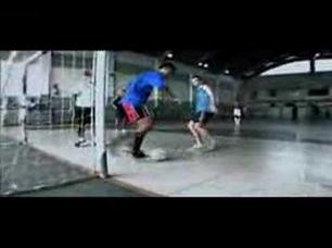 Futsal Fantastic - Robinho vs Falcao
