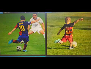 6 year old probably one of the best football talents in the world