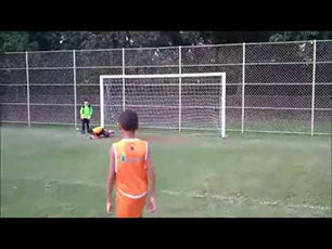 Amazing 9 year old Brazilian soccer goalkeeper! Bernardo Liberato in a training day.