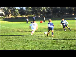 Stevie 9 year old soccer/football player best goals & team play 2015