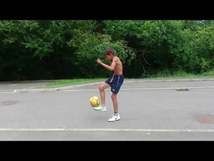 Neo Dobson age 10 - More Football Freestyle