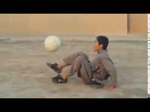 10 year old freestyler from Afghanistan