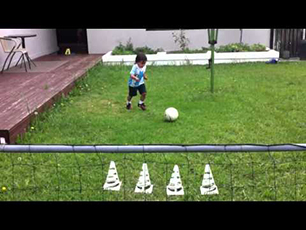 3 year old with tekkers