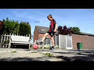 Veron 9 year old holland freestyle new skills