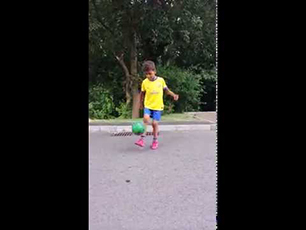 Neo Dobson Age 7 - Short Training Clip