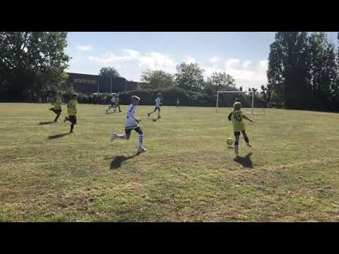JW10- JIMI WEBB - opening day of the U11s season - hatrick