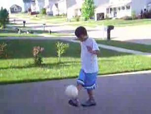 12 year old soccer baller