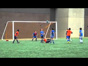 Wow, U13 Bicycle kick