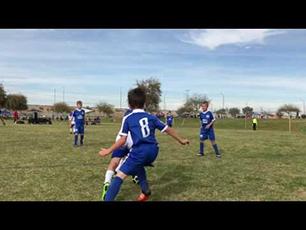 Amazing 8 year old soccer player Ayden Libert