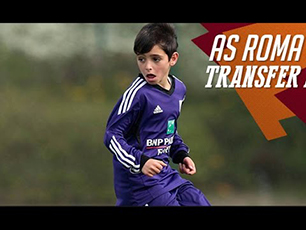 11 Year old signing for Roma