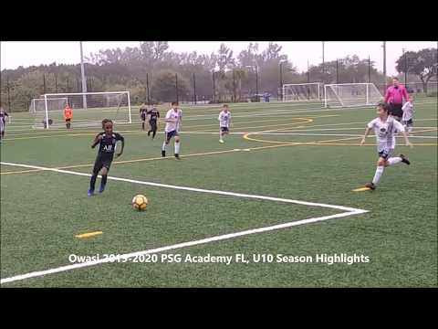 Owasi 2019-2020 PSG Academy FL, U10 Season Highlights