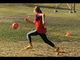 AMAZING 13 Year Old Girl Soccer Player | Kyra is an Athlete with SKILLS