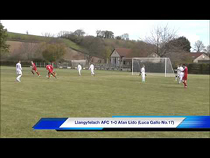 Luca Gallo scoring 2 brilliant goals vs Afan