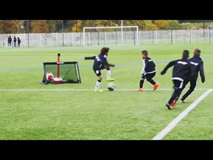 Levi's (6year) trainingsday at Coerver Perfor
