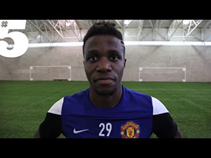 Wilfried Zaha Freestyle Skills & Tricks