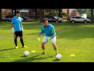 Goalkeeper Footwork and Catching Drills