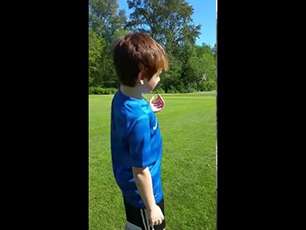 How to Curl a Soccer Ball by a 9 Year Old
