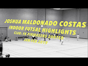 Joshua Maldonado Costas Indoor Futsal Highlights