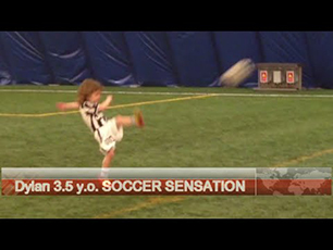 $ year old soccer talent