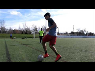 14 year old scores bicycle kick goals plus fr
