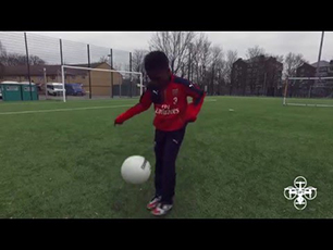 9 Year-old Ma'kel Campbell Arsenal FC