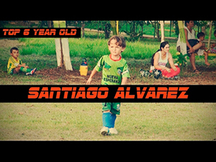 6 year old santiago alvarez