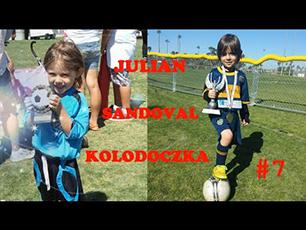 6 añitos, dominio, pases y goles de Julian Sandoval-Kolodoczka