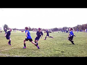 Awesome 8 Year Old Girl Striker/Finisher