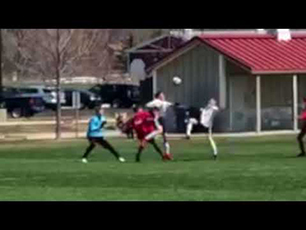 12 Year Old Nails Amazing Scorpion Kick Goal