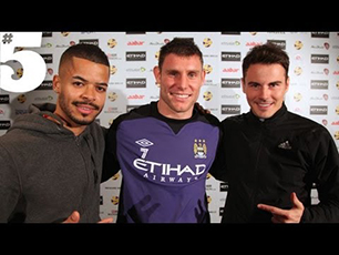James Milner Crossbar Challenge