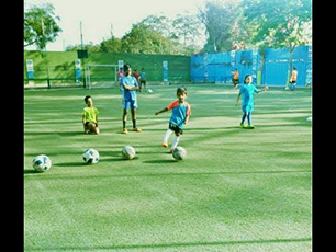 Soccer Football training at King Star FC Prit
