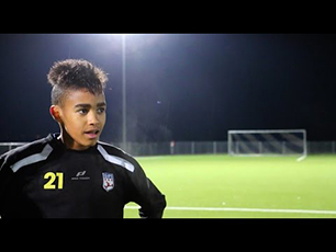 Young football talent - Felix Knörle (DFI U1