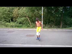 Neo Dobson Age 8 - Some Freestyle Skills