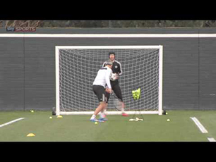 The ULTIMATE goalkeeping drill...with Petr Ce