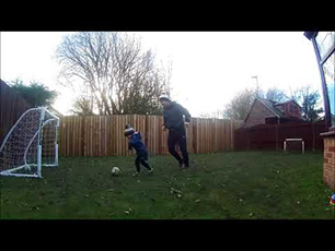 3 1/2 Yr Old Footballer (HARLAN HARGREAVES)
