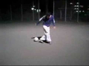 Football skills on the street