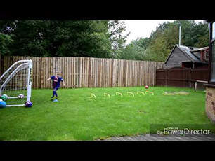 4 Year Old Footballer Harlan (HGH)