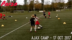 Parsa at Ajax Camp