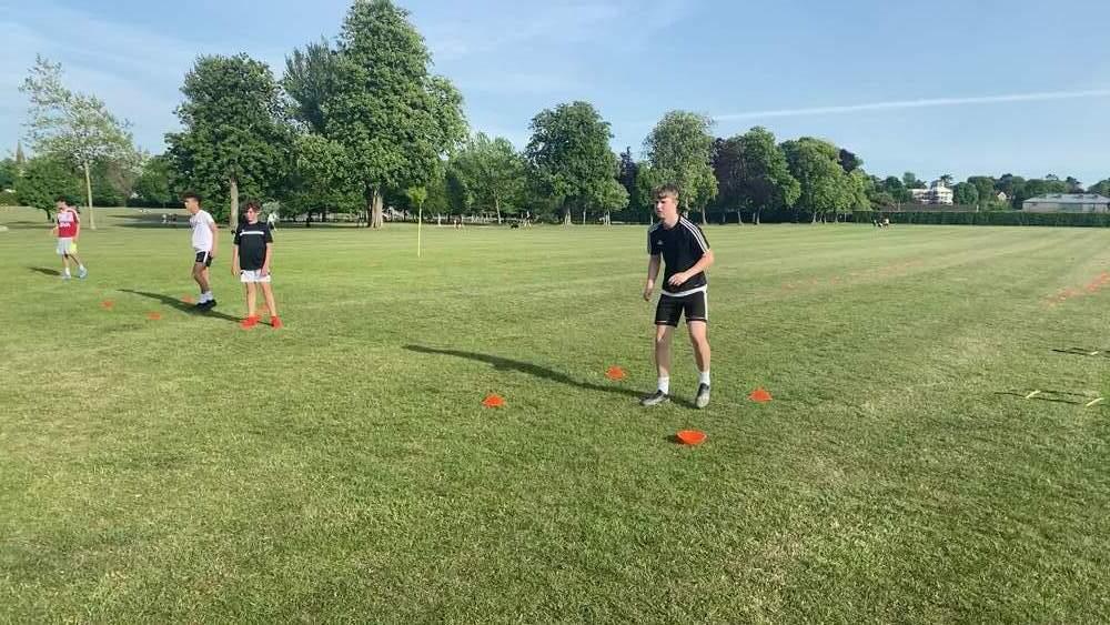 Jack Wallace training
