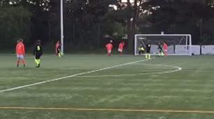 Cado with a nice goal
